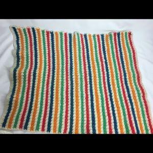 Vintage child's wool blanket